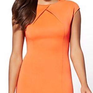 New York & Co midi sheath dress